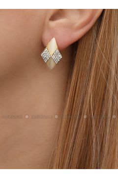Golden tone - Earring - Takıştır Bijuteri(110326954)
