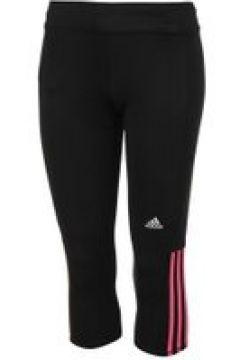 adidas Questar Three Quarter Ladies Running Tights - Black/Pink(100544258)
