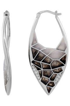 Boucles oreilles Noia Pendantes en Argent 925/1000, Oxyde et Email Femme(115427625)