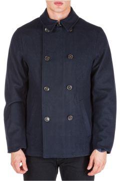 Men's double breasted coat overcoat(117389532)