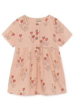 Kleid aus Bio-Leinen Tulpen(113869965)