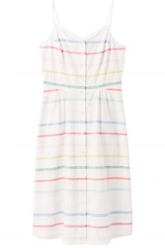 Joules Abby Kleid - White Multi Stripe(114587098)
