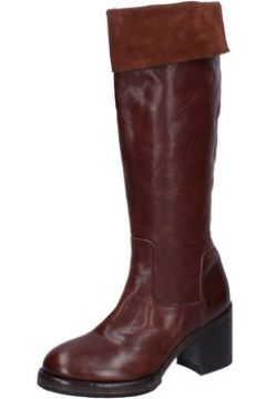 Bottes Moma bottes marron cuir BY931(115470475)