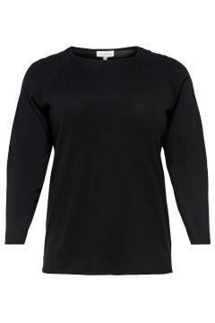 ONLY Voluptueux Couleur Unie Pull En Maille Women black(108032782)