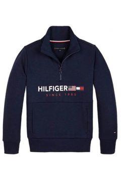 Sweat-shirt enfant Tommy Hilfiger FLAGS INTERLOCK 1/2 ZIP(101663772)