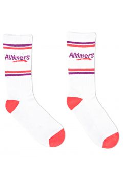 Sports Socks Alltimers Estate - White Red Purple(115689920)