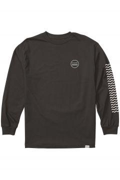 Nixon Waves Long Sleeve T-Shirt zwart(85182228)