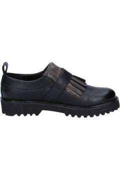 Chaussures Sara Lopez élégantes noir cuir BX716(115442627)