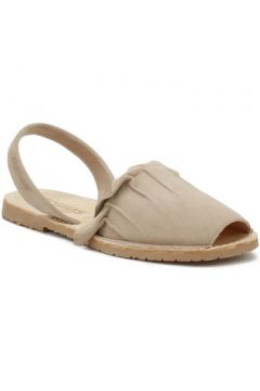 Sandales Solillas Womens Taupe Volant Sandals-UK 3(101574412)