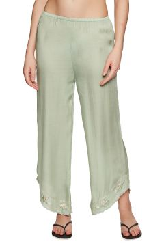 Amuse Society Tequila Sunrise Damen Trousers - Palm Green(100263209)