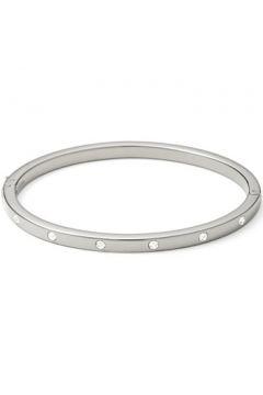 Bracelets Fossil Bracelet en Acier et Cristal Blanc Femme(88632378)