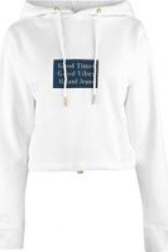 Abrand Crop Hoodie - White(100374040)
