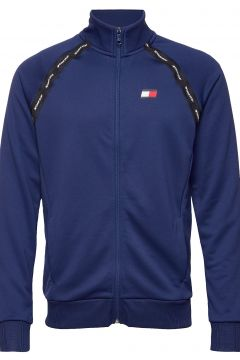 Track Jacket Tape Sweat-shirt Pullover Blau TOMMY SPORT(109243029)