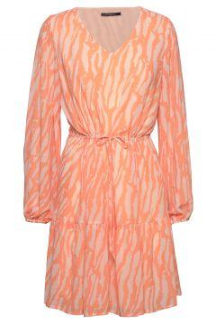 Gloss Elissa Dress Bz Kleid Knielang Orange BRUUNS BAZAAR(109200380)