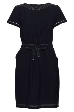 Dress Short 1/2 Sleeve Kleid Knielang Blau BETTY BARCLAY(114164655)