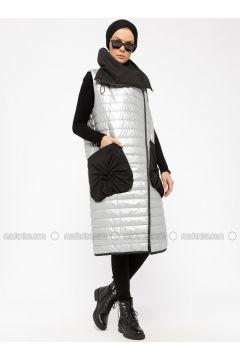 Silver tone - Fully Lined - Vest - Miorespiro(110335492)