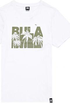 T-Shirt à Manche Courte Bula Crest - White(111321575)