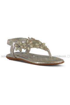 Silver tone - Sandal - Sandal - Marjin(110337957)
