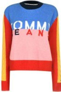 Tommy Jeans Multi Logo Sweatshirt - PINKICING/MULTI(107966750)