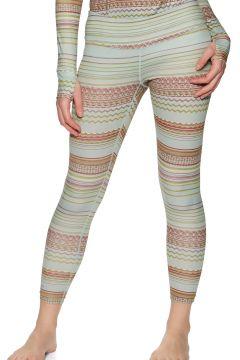 Leggings Seconde Peau Femme Burton Lightweight Thermal - Aqua Gray Revel(111323008)