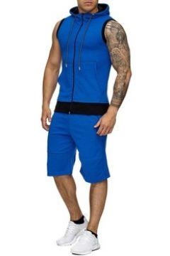 Ensembles de survêtement Monsieurmode Ensemble jogging mode Survêtement 971 bleu(115398210)