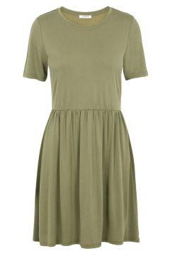 PIECES Modalmix Jurk Dames Green(113022857)