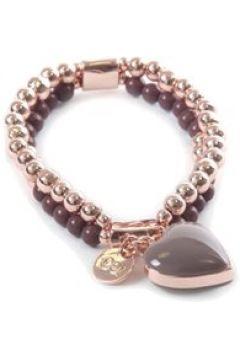 Armband Demi mit Herzanhänger Collezione Alessandro taupe(111507473)
