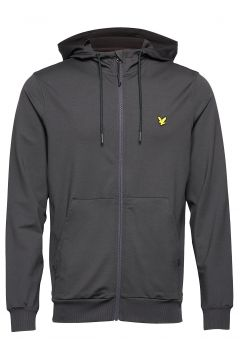 Superwick Full Zip Midlayer Hoodie Pullover Grau LYLE & SCOTT(108014123)