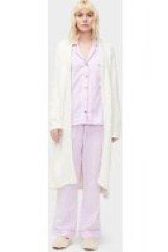 UGG Raven Set Stripe Pyjamas pour Femmes en Bodacious/Cream, taille Grande | Mélange De Coton(112238928)