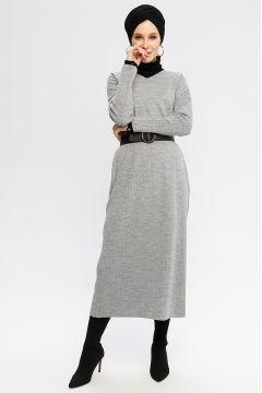Robe CE-CE Gris(108583312)