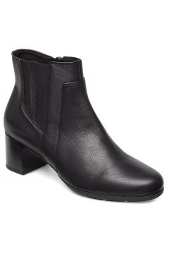 D New Annya Mid B Shoes Boots Ankle Boots Ankle Boots With Heel Schwarz GEOX(114161909)