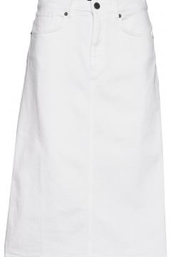 0639 - Kathy Skirt Knielanges Kleid Weiß SAND(108925342)
