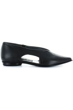 Sandales Malloni Ballerine Cuir Noir(101554120)