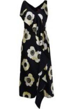 Hugo Floral Printed Sleeveless Dress - Navy 964(111095113)