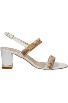 Sandales La Via Del Mare VM17127 sandales Femme Blanc(115442025)