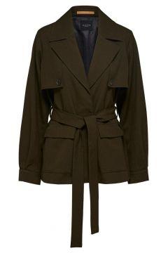 SELECTED Lichte Trenchcoat Dames Green(111097544)