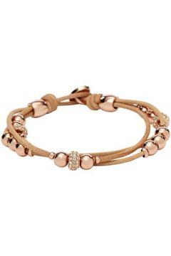 Bracelets Fossil Bracelet en Cuir Marron Femme(115442210)