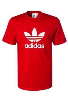 ADIDAS ORIGINALS Treefoil T-Shirt scarlet EJ9678(94011437)
