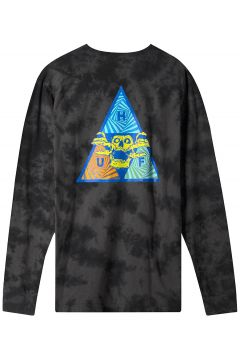 HUF Acid Skull TT Long Sleeve T-Shirt zwart(114566188)