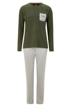 Pyjama - S.C. Original Edition, oliv/grau meliert(111093471)
