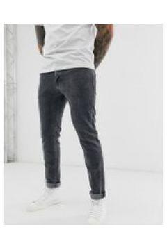 Selected Homme - Schmal geschnittene Jeans aus Bio-Baumwolle in Grau - Grau(95026795)