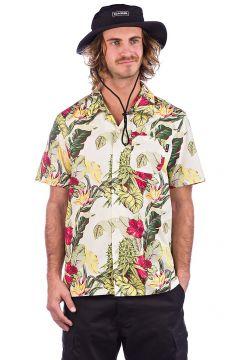 HUF Paraiso Resort Shirt bruin(114623069)