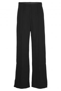 Piros Hw Trousers Hosen Mit Weitem Bein Schwarz SECOND FEMALE(108574011)