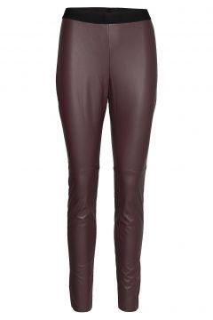 Honati Leather Leggings/Hosen Rot HUGO(100850220)