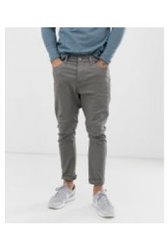 Jack & Jones - LUKE - Schmale Jeans - Grau(94102438)