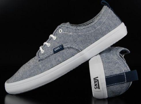 Vans Quinn Navy White Sneaker US11/EU44,5(77153085)