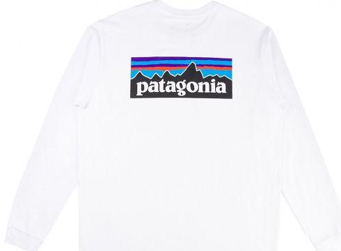 Patagonia P6 Logo Responsibili Long Sleeve T-Shirt wit(115860784)