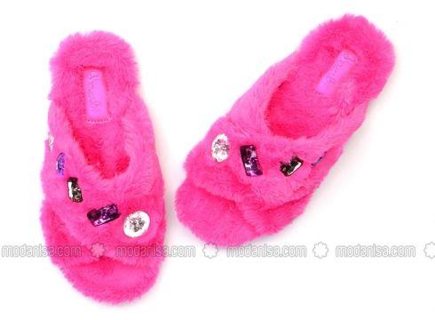 Pink - Purple - Sandal - Slippers - Bambi(100930614)