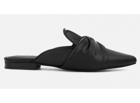 Sol Sana Women\'s Jess Leather Loafers - Black - UK 3 - Schwarz(51947721)