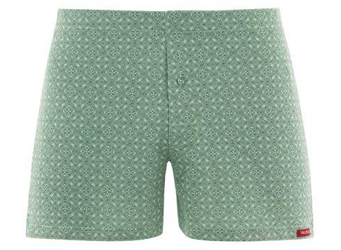 Green Ornament Night - Boxershorts - Grün(61105508)